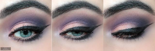 Wieczorowy makijaż dla niebieskich oczu krok po kroku