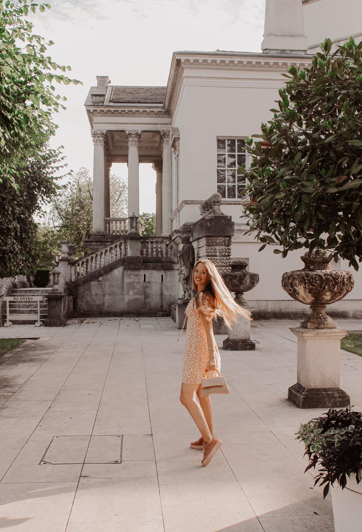 chiswick house fashion photoshoot