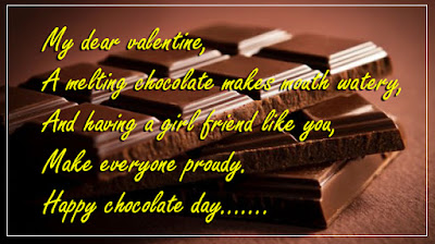 chocolate day wordings