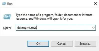 أعد تثبيت برامج تشغيل محول الشبكة