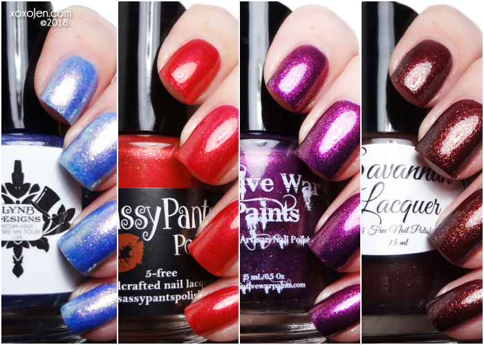 xoxoJen's swatch of Shimmer Me Box: Fall Landscapes