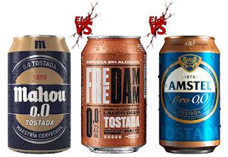 Cata comparativa de cervezas Sin Alcohol tostadas