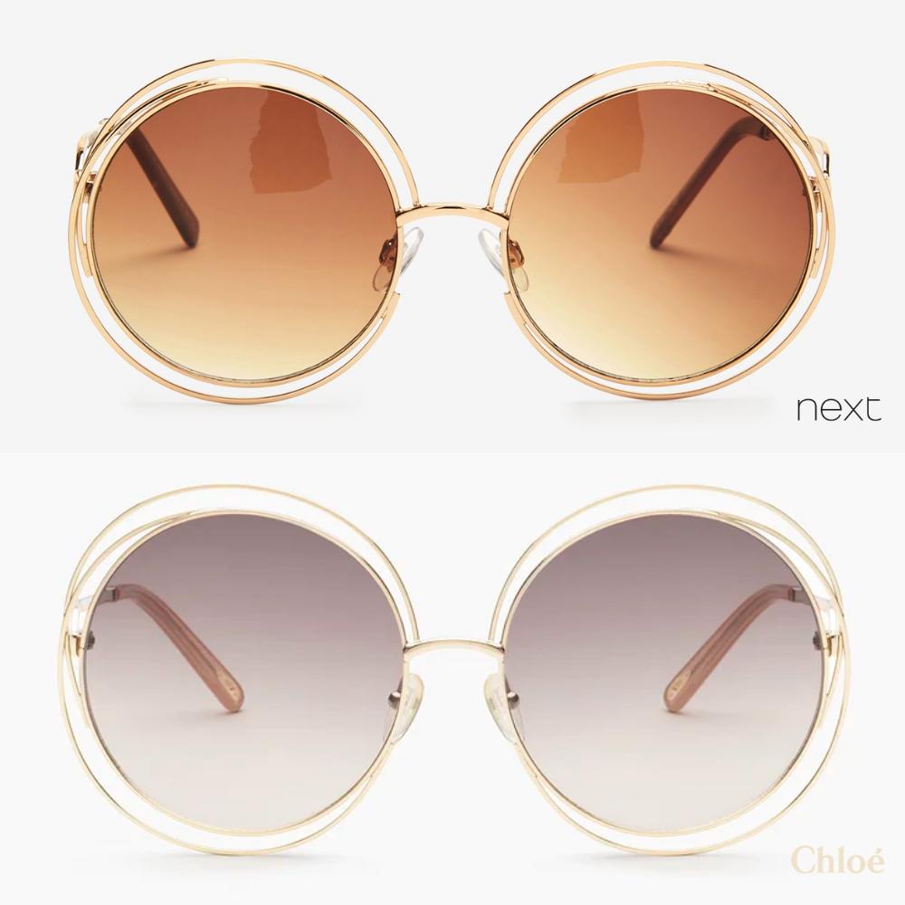 Chloe Carlina Dupes: the sunglasses