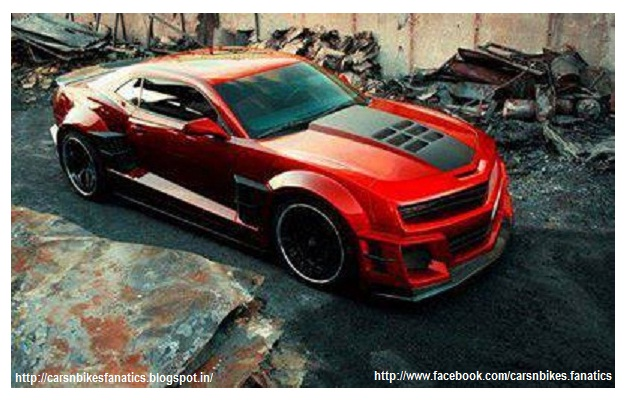 Car Bike Fanatics Modified Muscle Car Chevrolet Camaro
