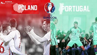 POLAND-PORTUGAL 1/4 UEFA EURO 2016 LIVE