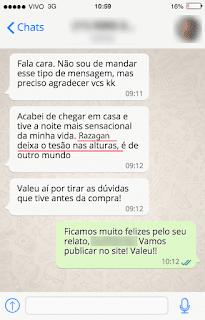 Depoimento Whatsapp