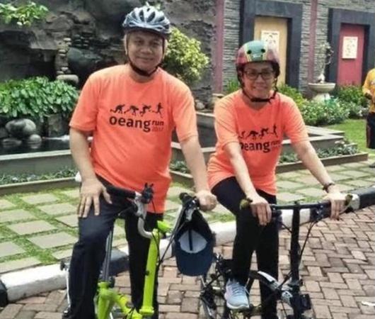 Viral Sri Mulyani Naik Sepeda Brompton Seharga Rp50 Juta, Ini Penjelasan Kemenkeu