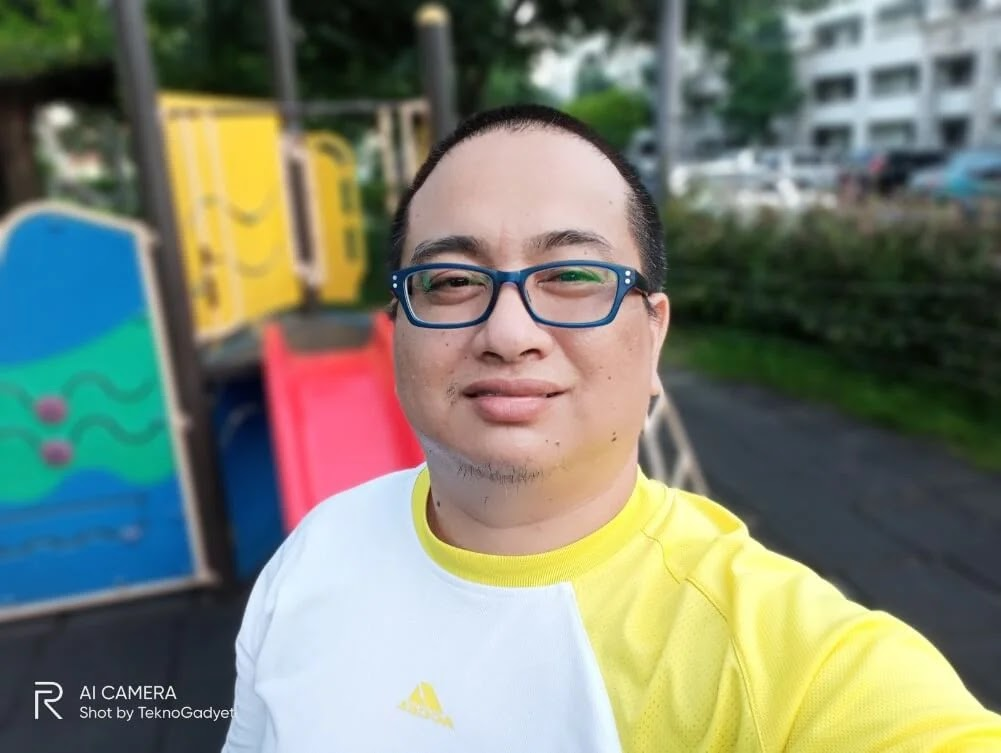 Realme C15 Camera Sample - Selfie, Portrait