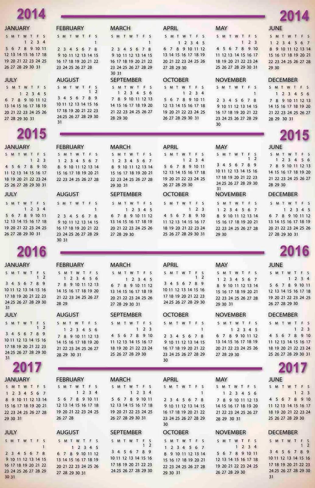 Magnífico Plantilla Sin Calendario 2014 Viñeta - Ejemplo De ...