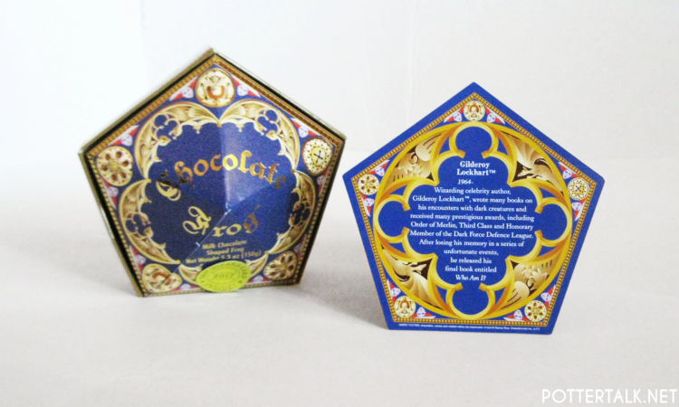 Harry Potter Chocolate Frog Card Gilderoy Lockhart