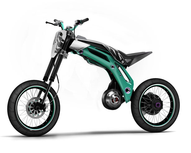 KTM trike bike
