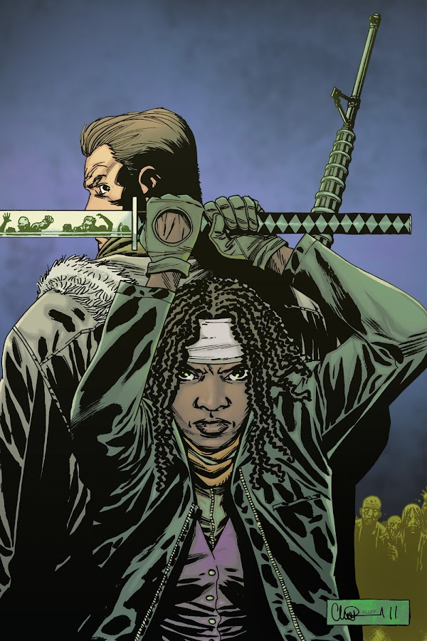 michonne and abraham