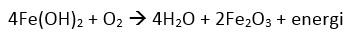 ion ferri menjadi ferro