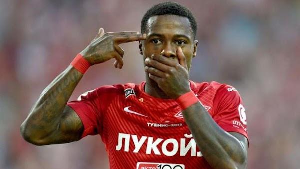 Oficial: Spartak de Moscú, firma Quincy Promes