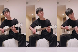 191108 Junhoe IG TV : Only Sound of Her Laugh by Lee Mon Sae (Cover)