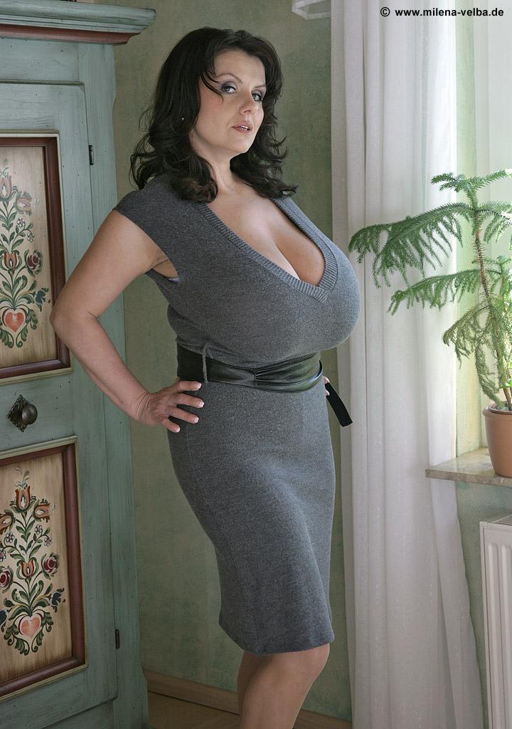 M Velba Grey Dress