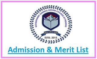Pedong College Merit List