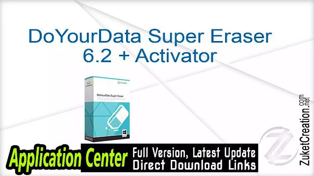 DoYourData Super Eraser 6.2 + Activator