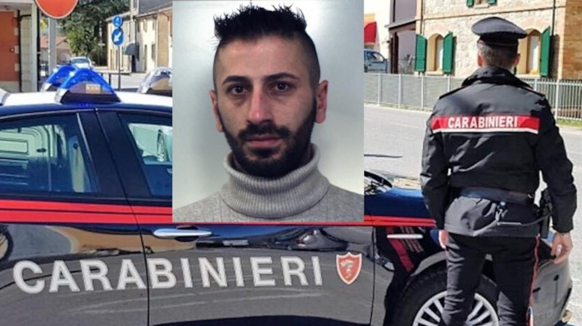brontese arrestato dai carabinieri
