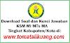 Download Soal KSM MI MTs MA 2019-2020 PDF + Kunci Jawaban
