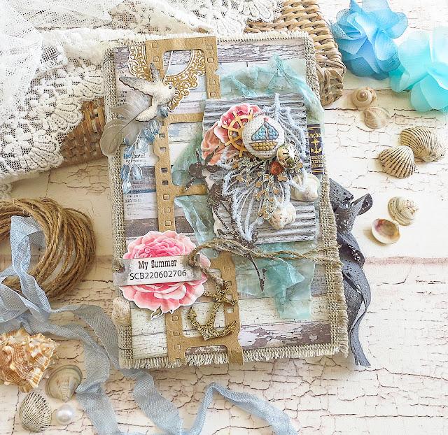 Морская коробочка, чайка, якорь, кардмейкинг, шоколадница, box for gift, seagull, shells, anchor