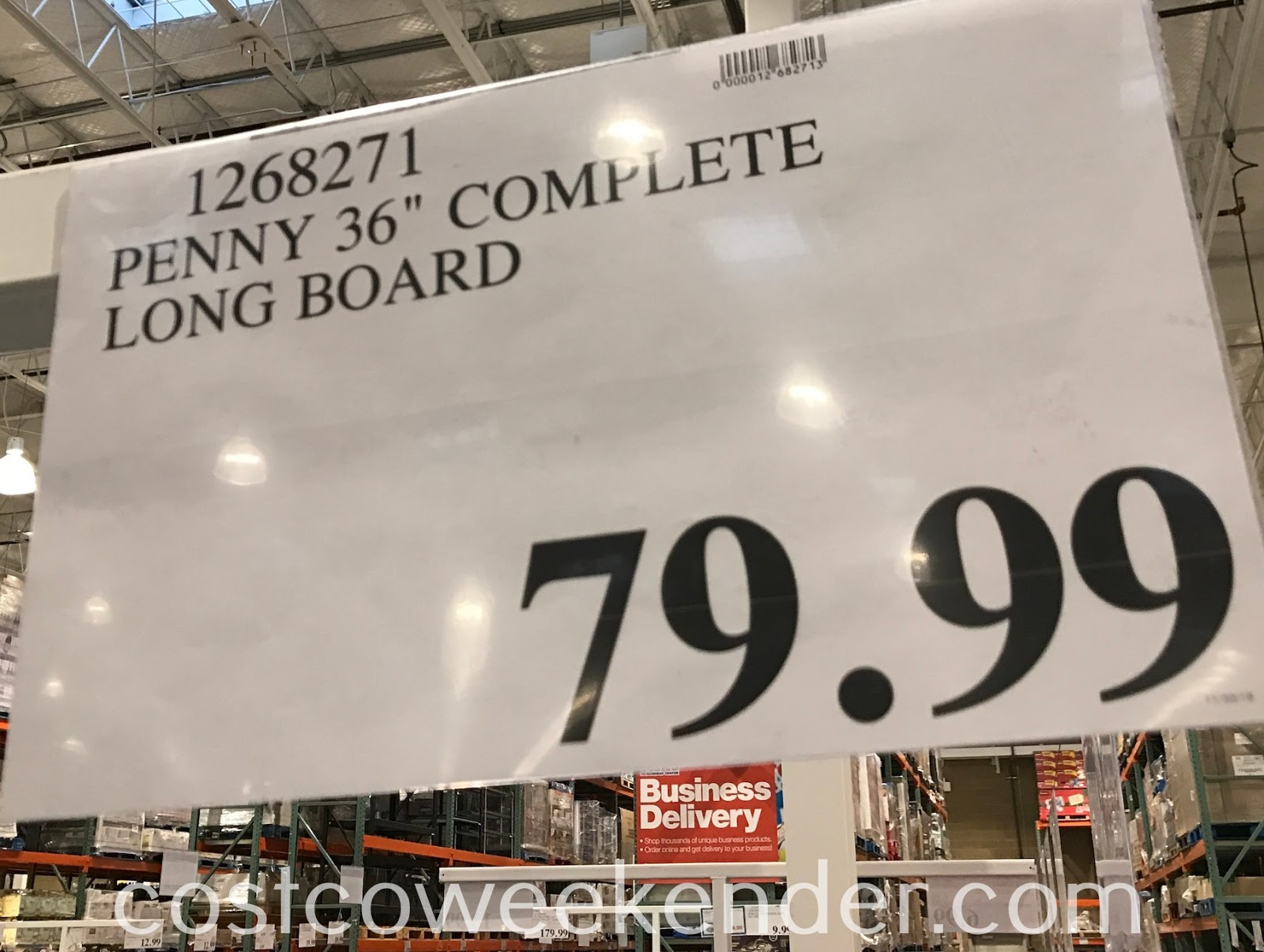 Deal for the 36in Penny Longboard at Costco