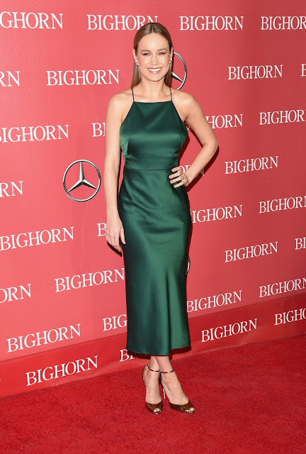 Actress, Singer, @ Brie Larson - 27th Annual Palm Springs International Film Festival Awards Gala