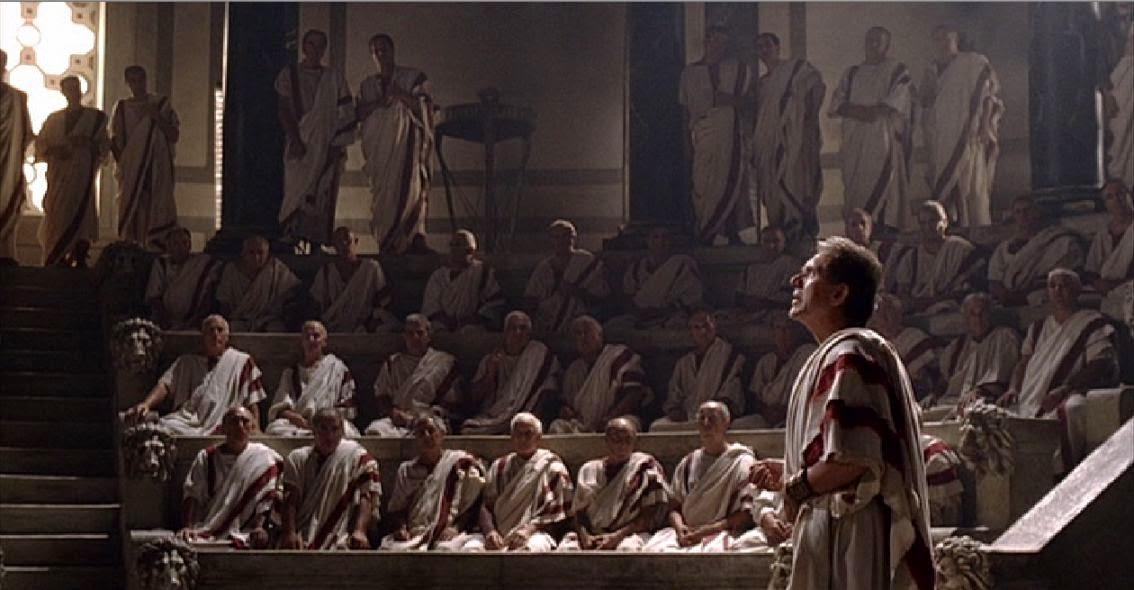 El senado en Roma