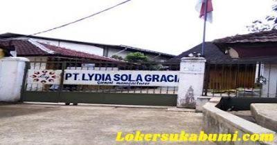 Lowongan Kerja Admin PT Lydia Sola Gracia Sukabumi
