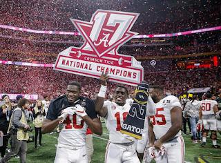 FÚTBOL AMERICANO - NCAA 2017/18: La dinastía de Alabama se reaviva con su 11º título en la prórroga