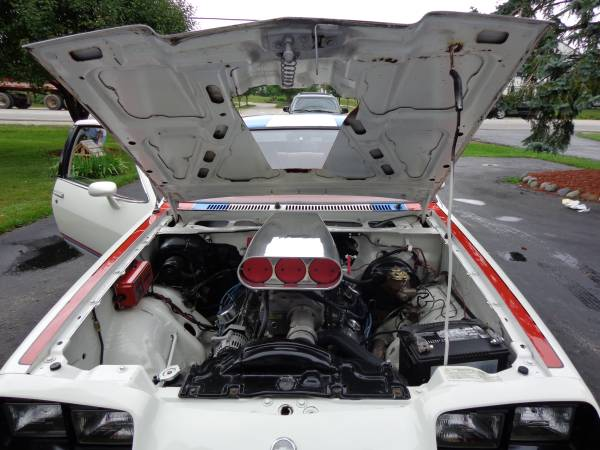 1977 Chevy Monza Mirage engine