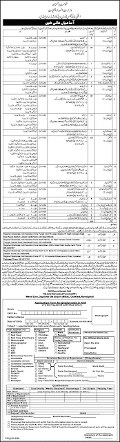 Latest Govt Jobs 2020 in Anti Narcotics Force ANF Jobs November 2020 Apply Online