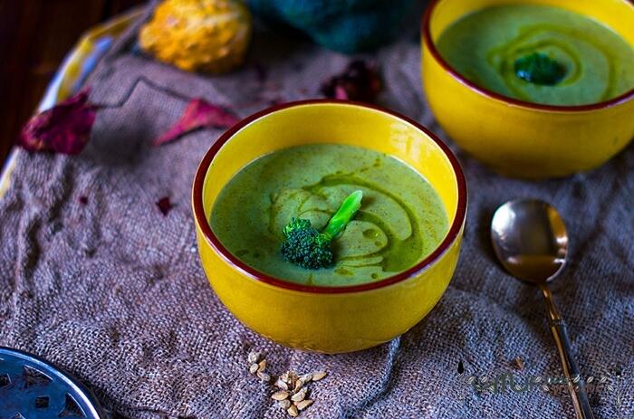 ver receta de crema de brocoli