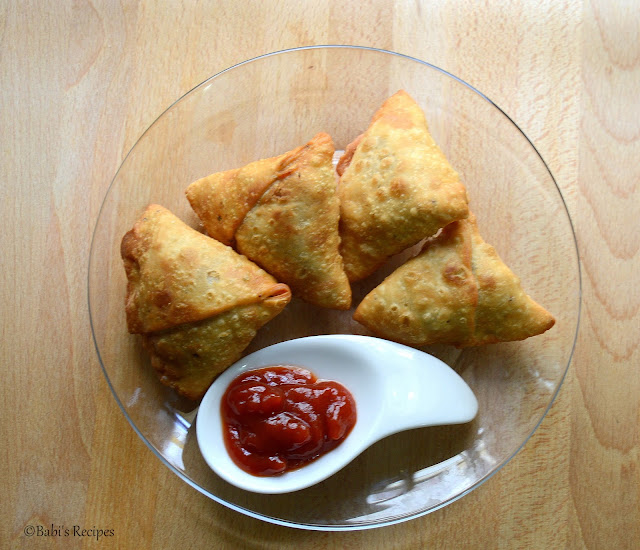 Aloo- Peas Samosa | How to make  Punjabi Samosa