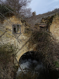 Molino del zurdo. Desfiladero del río Rudrón