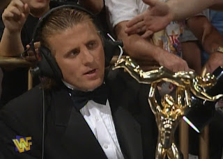 WWF / WWE - King of the Ring 96 -  Owen Hart was commentator for the evening with Jim Ross and Vince McMahon