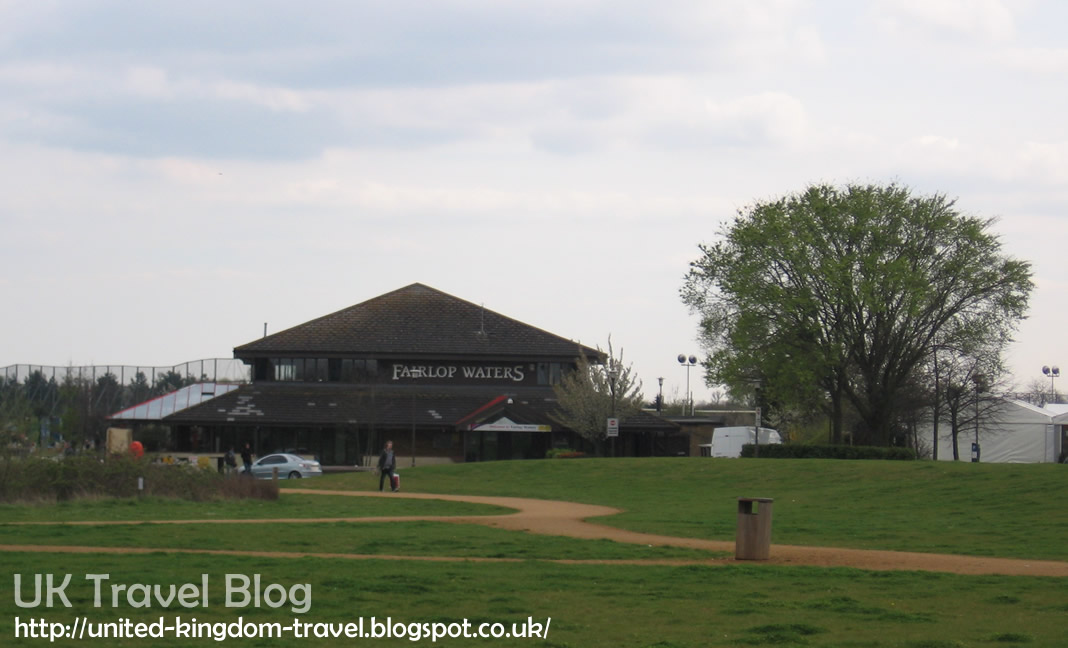 Fairlop Waters Country Park in Redbridge, Essex