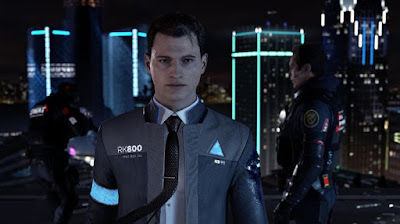 connor android AI