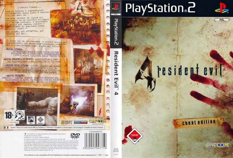 Cheats of Resident Evil 4 (RE4) for PS2 - Play Idle Games