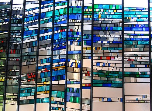 how to make stained glass designs
