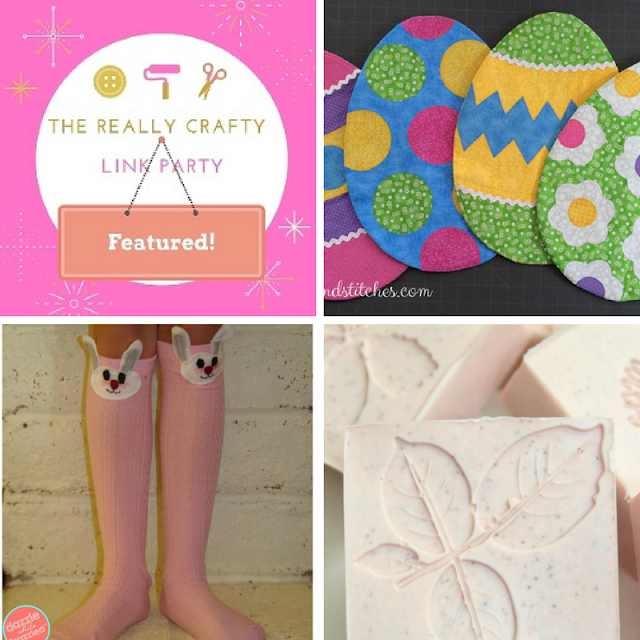 The Really Crafty Link Party #60 featured posts!