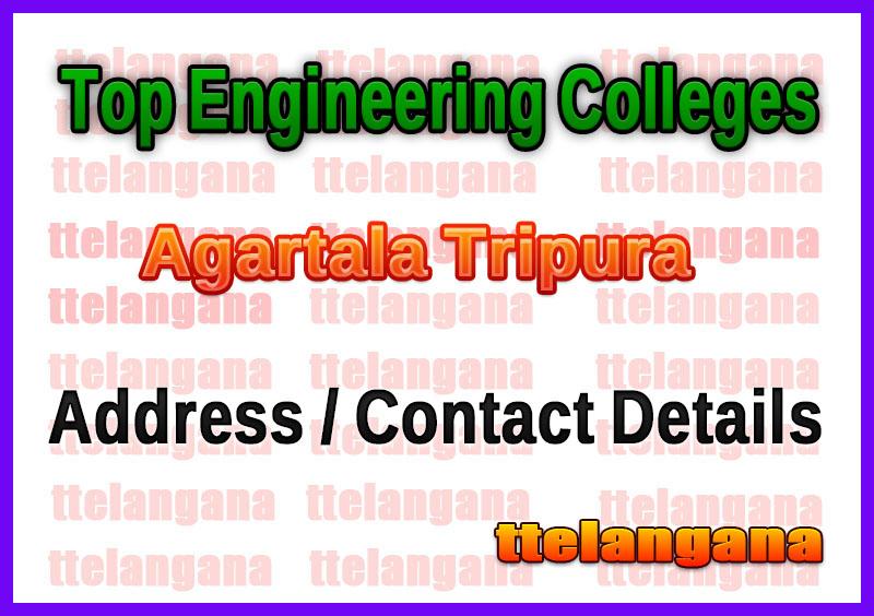 Top Engineering Colleges in Agartala Tripura