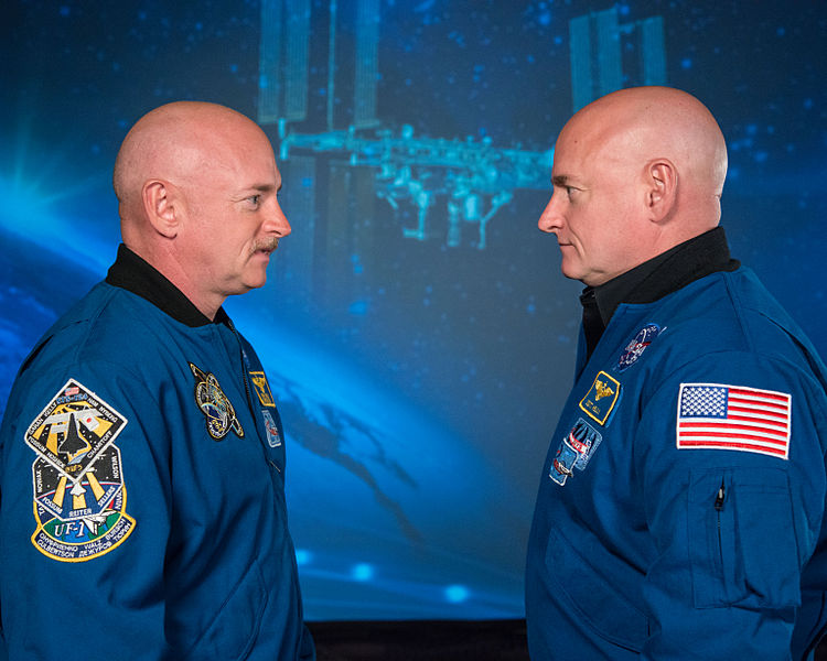what is twin paradox scott kelly mark kelly