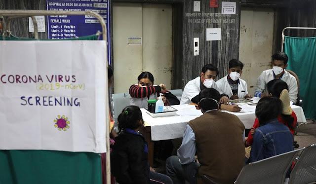 19 हजार के करीब देश में कोरोना संक्रमण के मामले 600 से ज्यादा की मौत