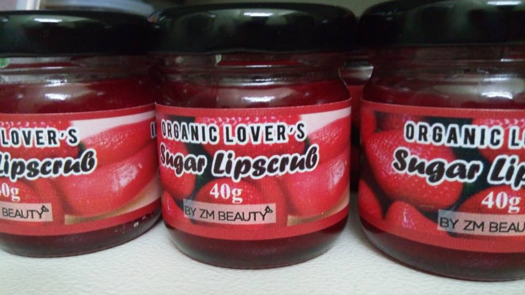 SUGAR LIPSCRUB (SCRUB BIBIR) BY ZM BEAUTY 100% ORGANIK