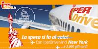 Logo IperDrive: vinci 2.000 gift card e un viaggio a New York per 2 persone
