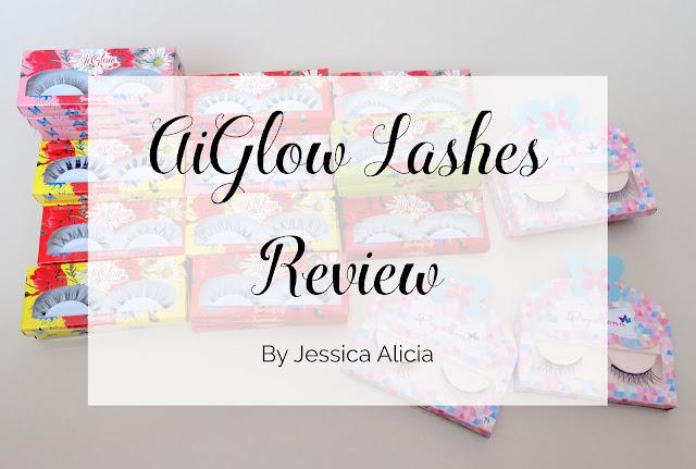 Aiglow Lashes Jessica Alicia review