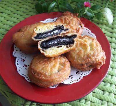 Resep Oreo Goreng Pancake