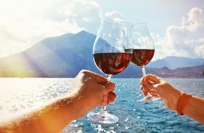 vino rosso estate