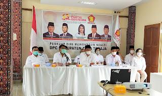DPC Partai Gerindra Tana Toraja Rayakan Hut Ke-13 Partai Gerindra